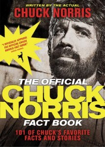 The Official Chuck Norris Fact Book cover art