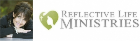 Photo of Carla McDougal and Reflective Life Ministries logo