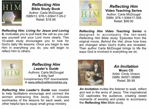 product descriptions of Reflective Life Ministries Instant Leader Kit