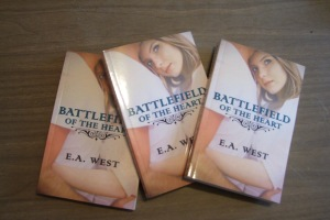 photo of Battlefield of the Heart print books