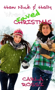 How Nick and Holly Wrecked...Saved Christmas cover art