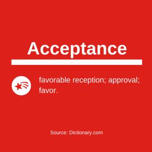 acceptance definition