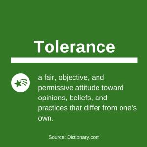 tolerance definition